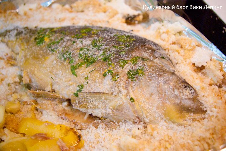 Как приготовить рыбу в соли