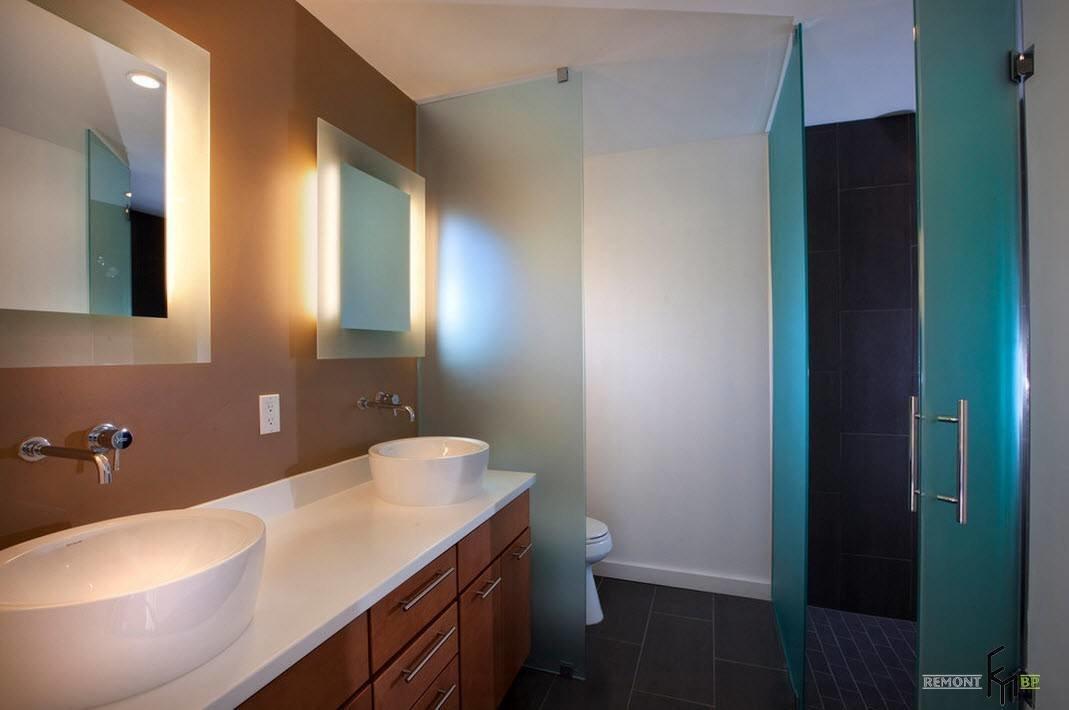 Зеркала в ванную комнату дизайн в хрущевке