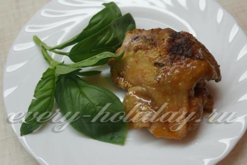 Рецепты куриных бедрышек в микроволновке