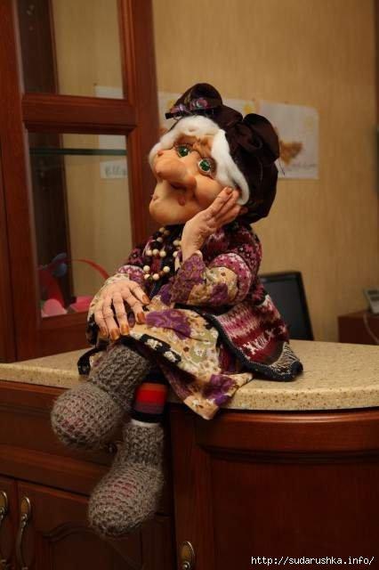 Сшить куклу бабы яги своими руками