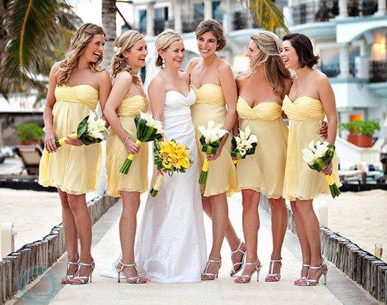 Что одевают на свадьбу гости летом фото 47