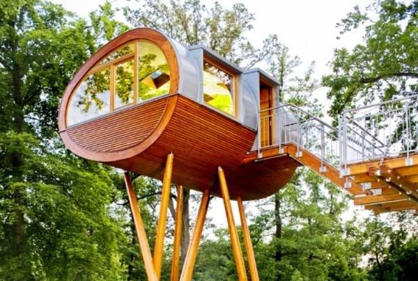 Как сделать дом из дерева