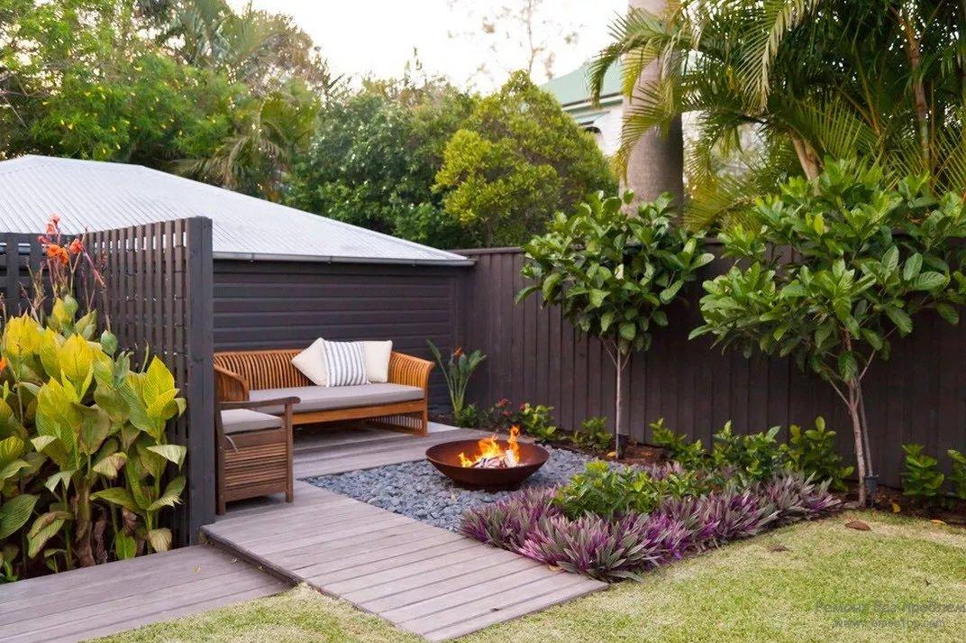 Идеи для дизайна двора в частном доме своими руками 8