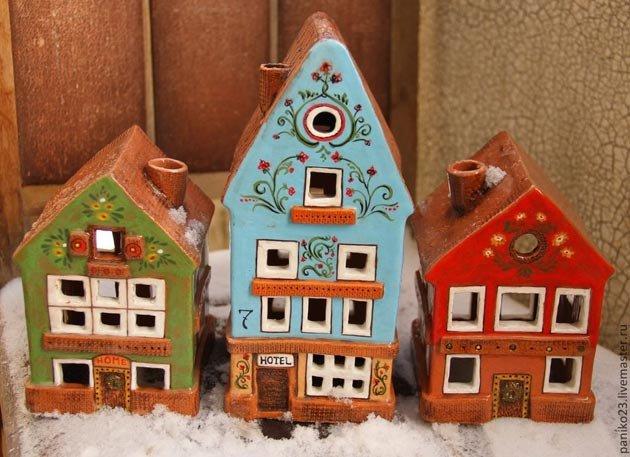 Глиняные домики своими руками 83
