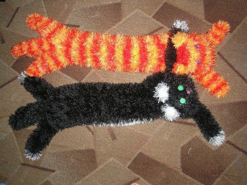 Схемы прикольных шарфов