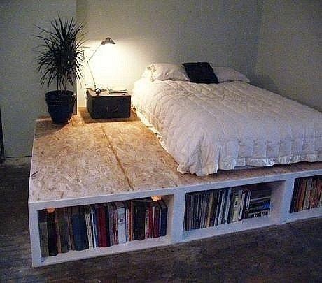Кровать на полу своими руками фото 68
