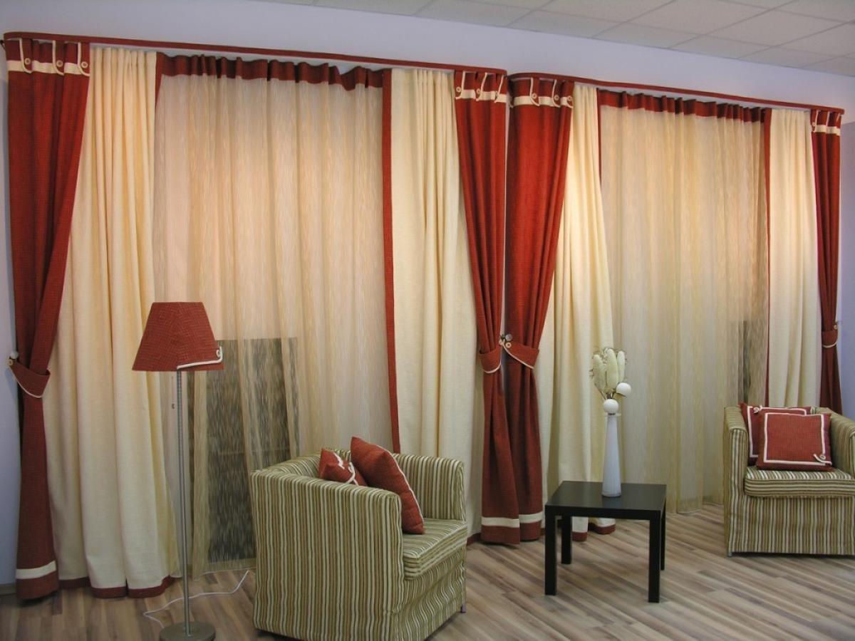 Фото коротких штор в гостиную дизайн
