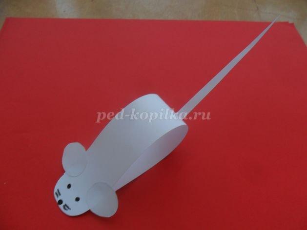 Поделки своими руками мыши из бумаги 5