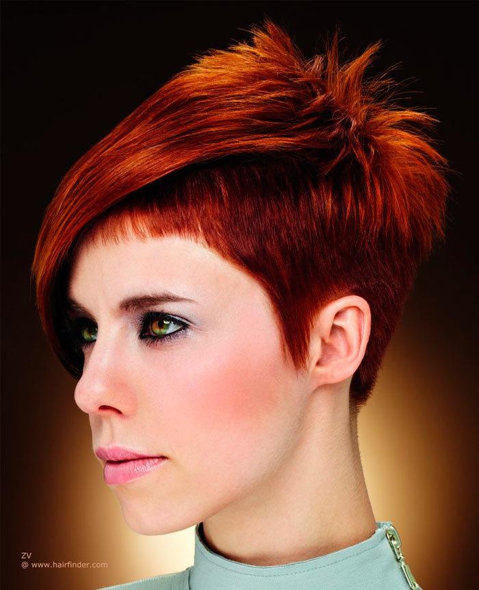 Креативные челки на короткие волосы женские