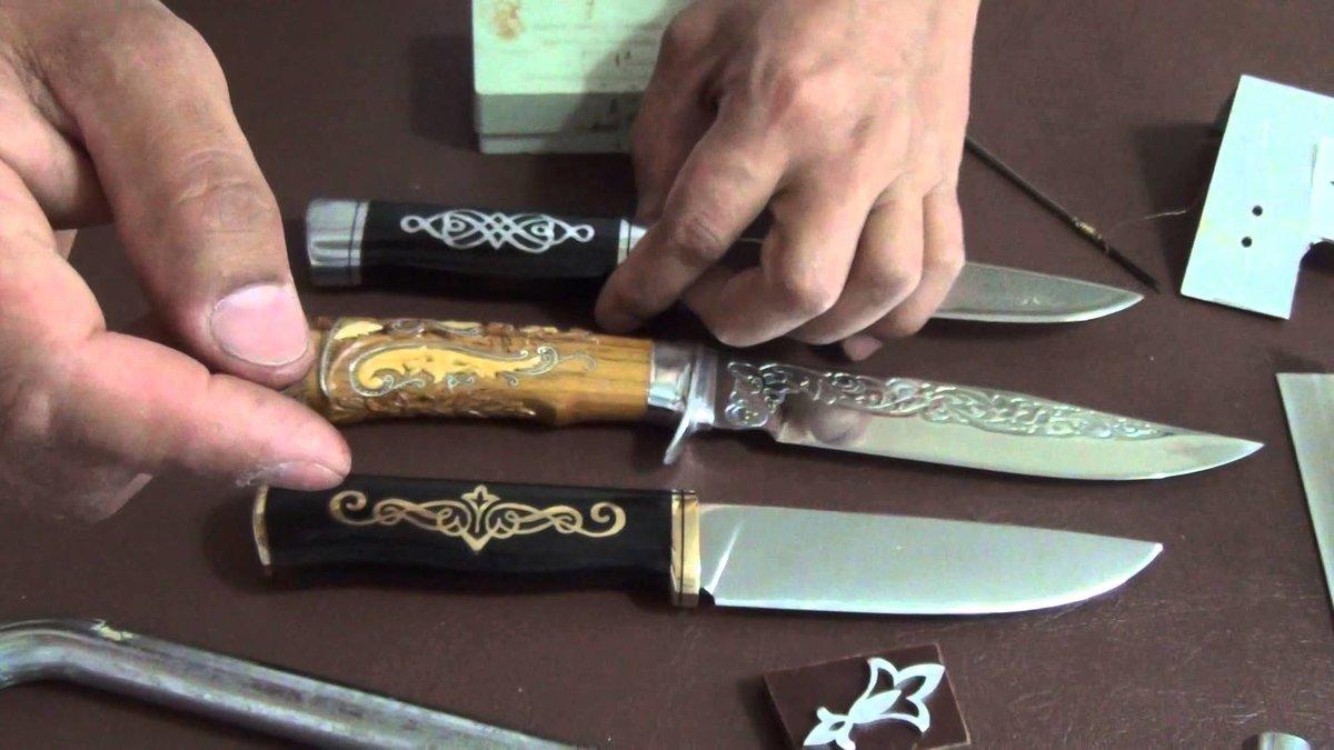 Нож из стекла своими руками 319