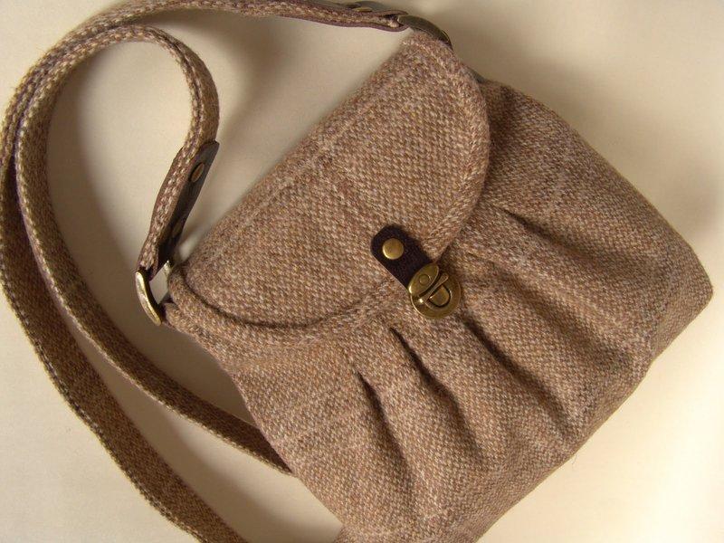 Красивая сумочка через плече своими руками