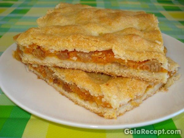 Пирог с начинкой из тыквы рецепты с