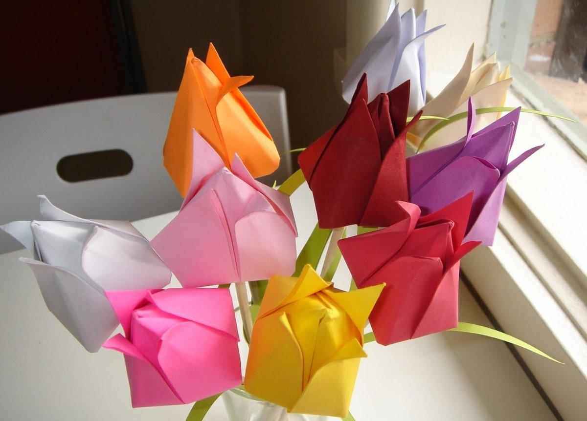 Сделать подарок бабушке своими руками сделать из бумаги 64
