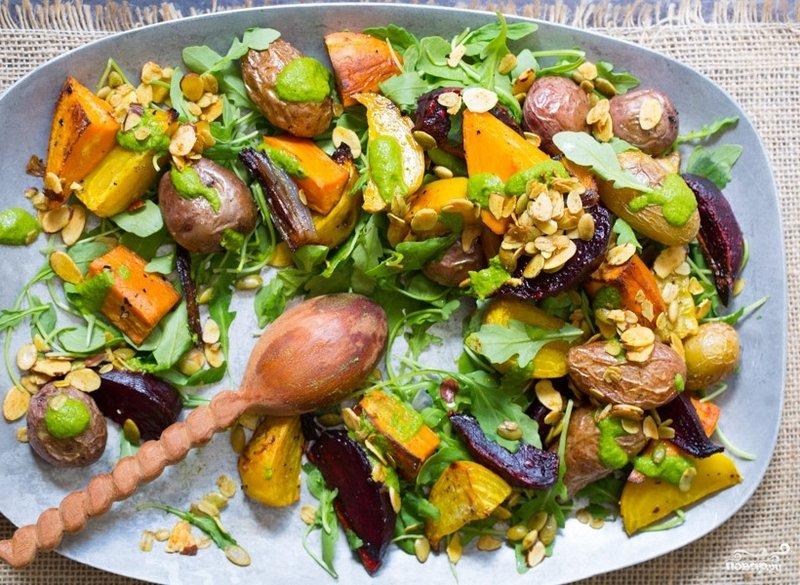 Вкусные салаты на новый год из овощей