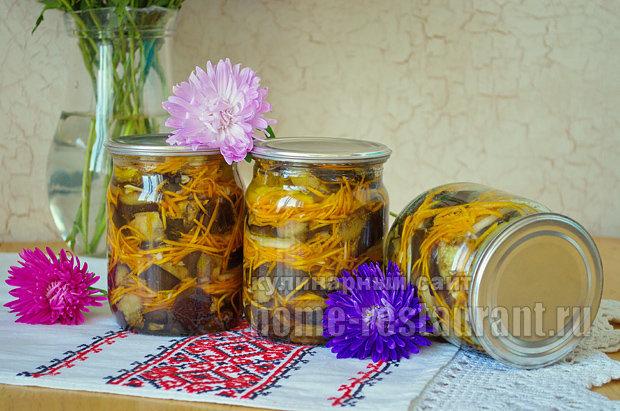 Баклажаны на зиму рецепты полосатики
