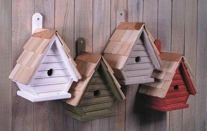 Как сделать домики для птиц