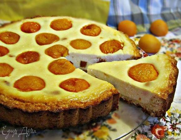 Пирог с абрикосами простой рецепт с пошагово
