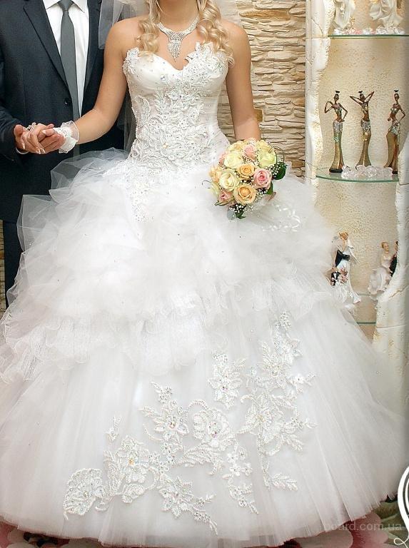 Фото красивых пышных свадебных платьев