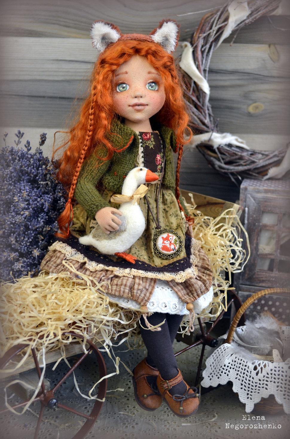 Своими руками куклы авторские куклы 37