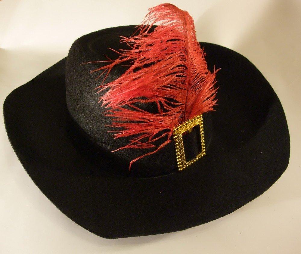 Шляпа с перьями своими руками 437