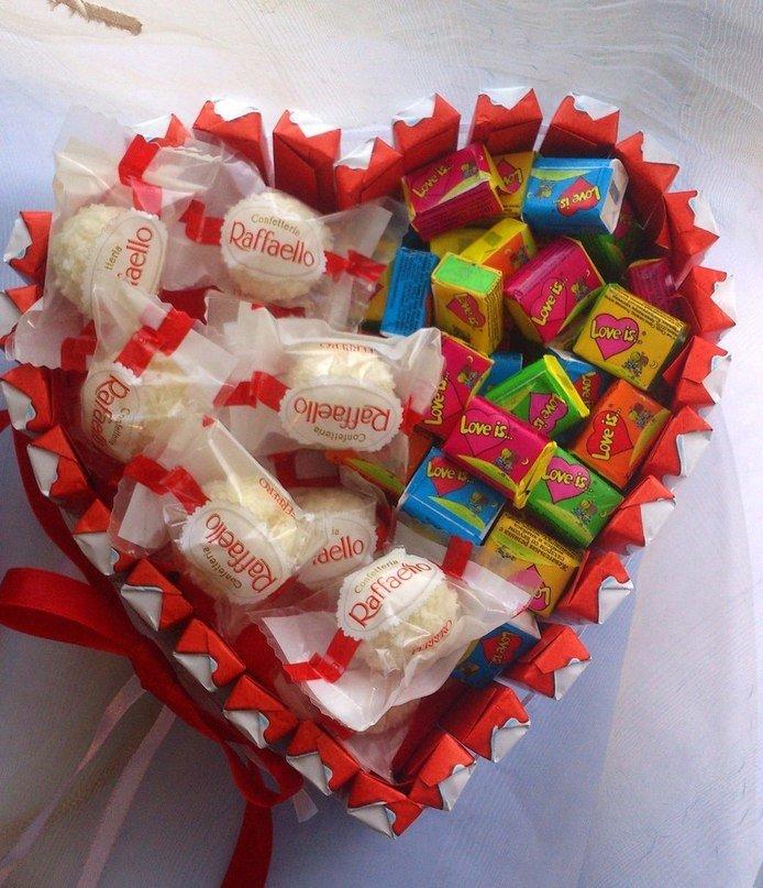 Подарки из сладкого фото 52