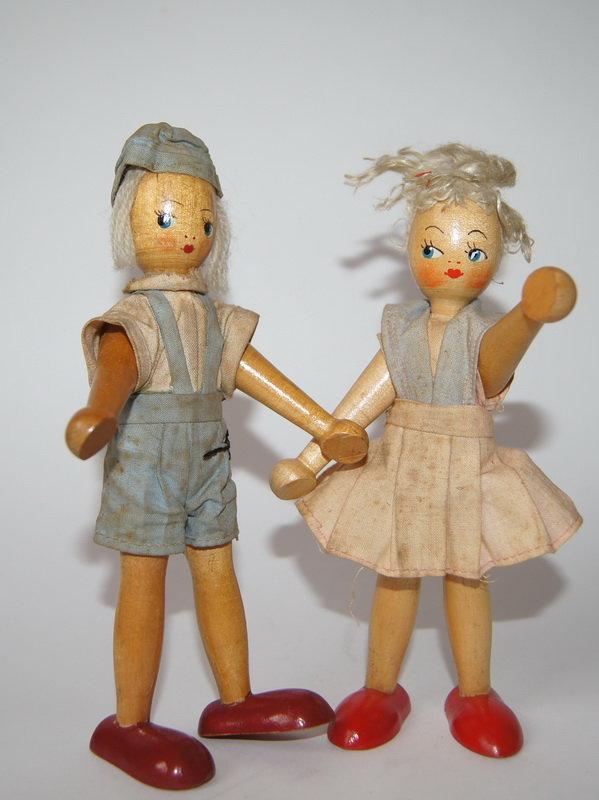 Куклы из прошлого своими руками