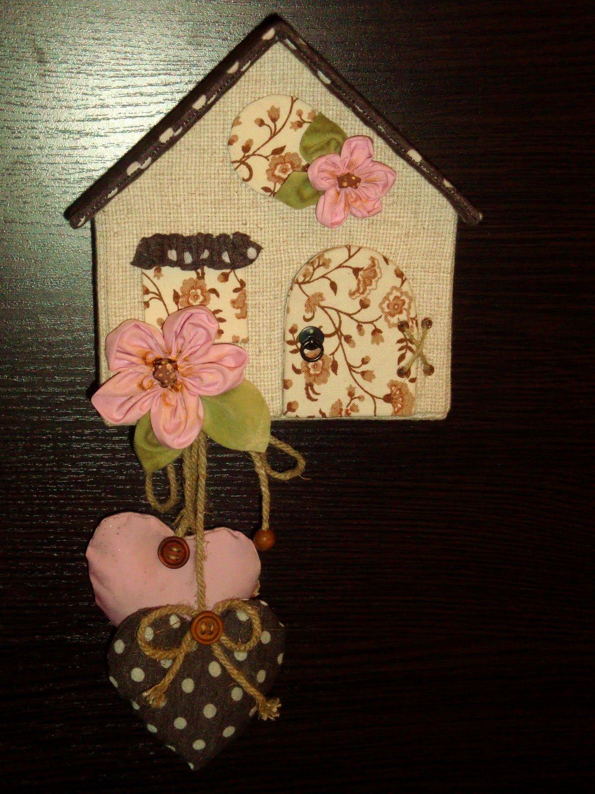 Поделки для дома из ткани фото и