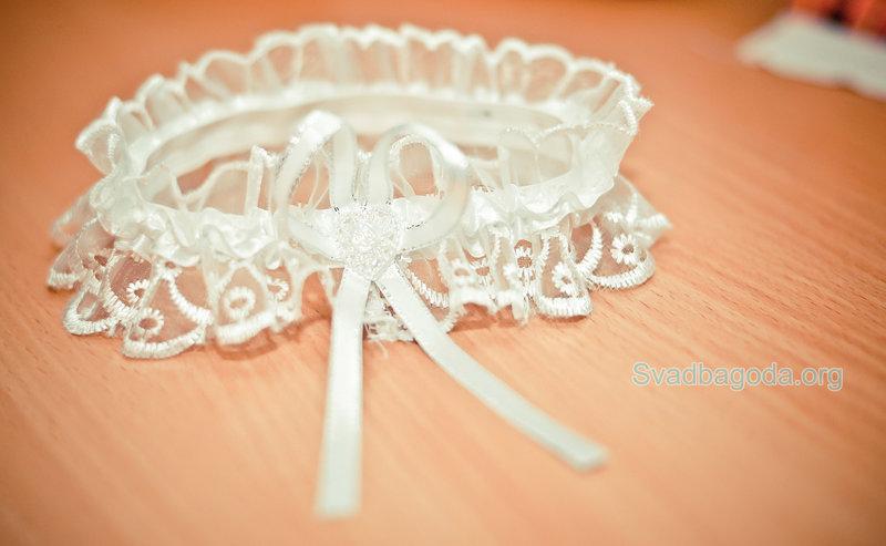 Подвязка невесты своими руками фото