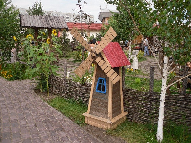 Мельница в детском саду своими руками