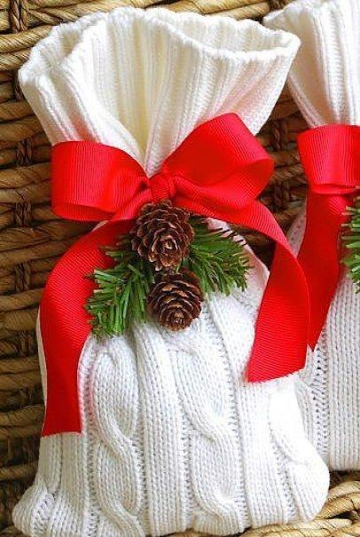 Оригинальные мешочки для подарков своими руками 37