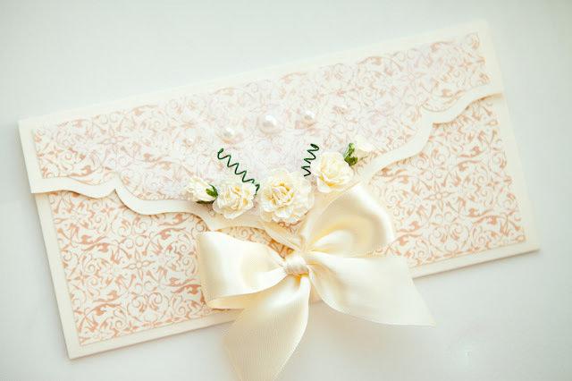 Конверты ручной работы для свадьбы