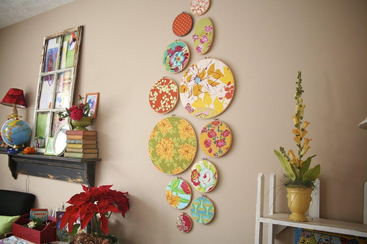 Декор на стены своими руками на кухне 39