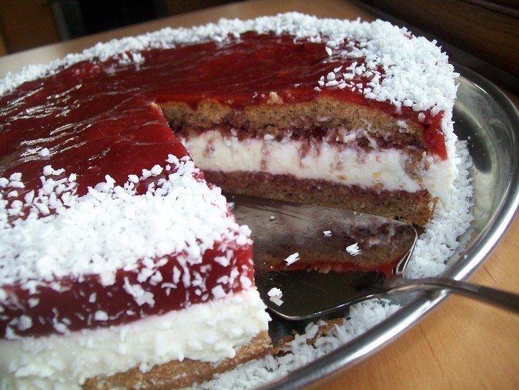 Йогуртово-творожный крем для торта пошаговый рецепт
