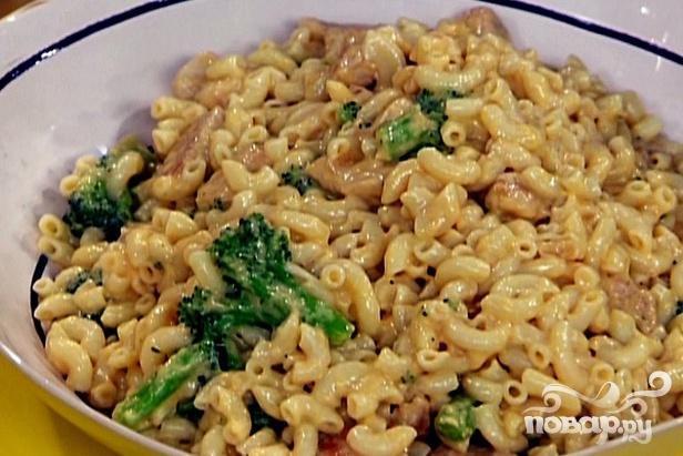 Макароны с курицей и овощами рецепт с фото пошагово