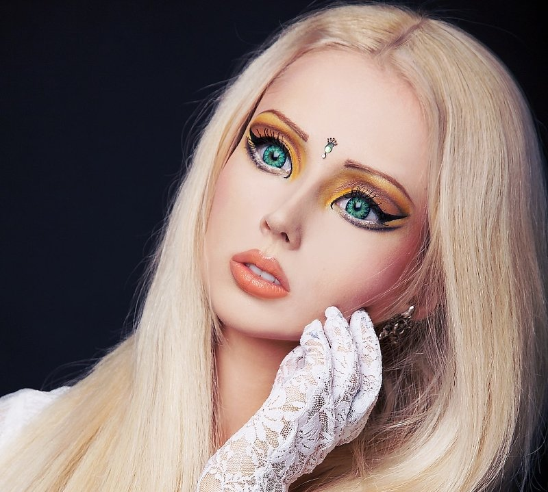 Как себе сделать стиль куклы 2