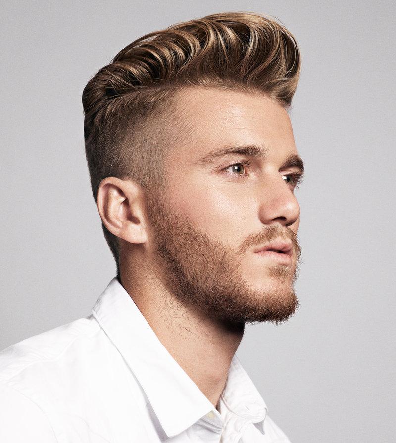 Современные модные мужские причёски