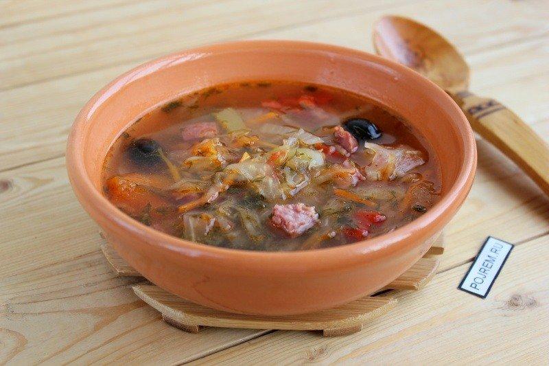 Рецепт приготовить суп солянку в домашних условиях 505