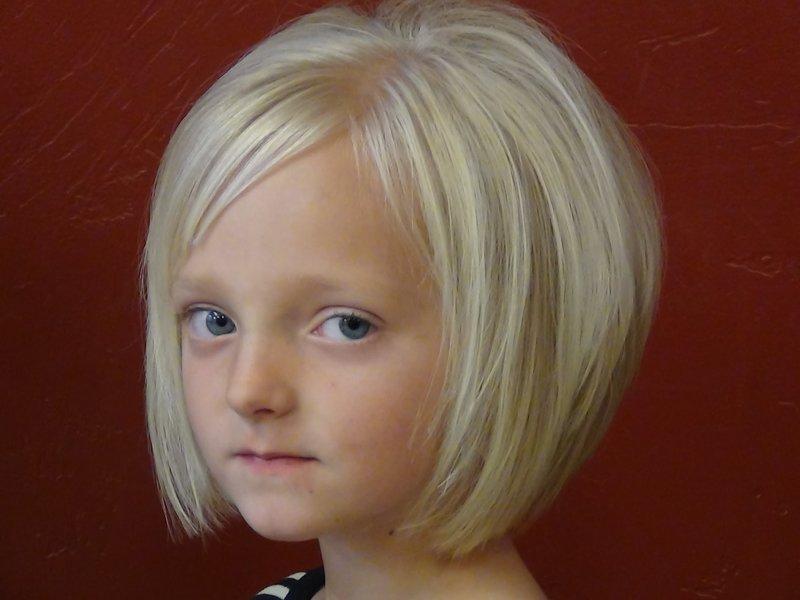 Фото красивые стрижки для девочек