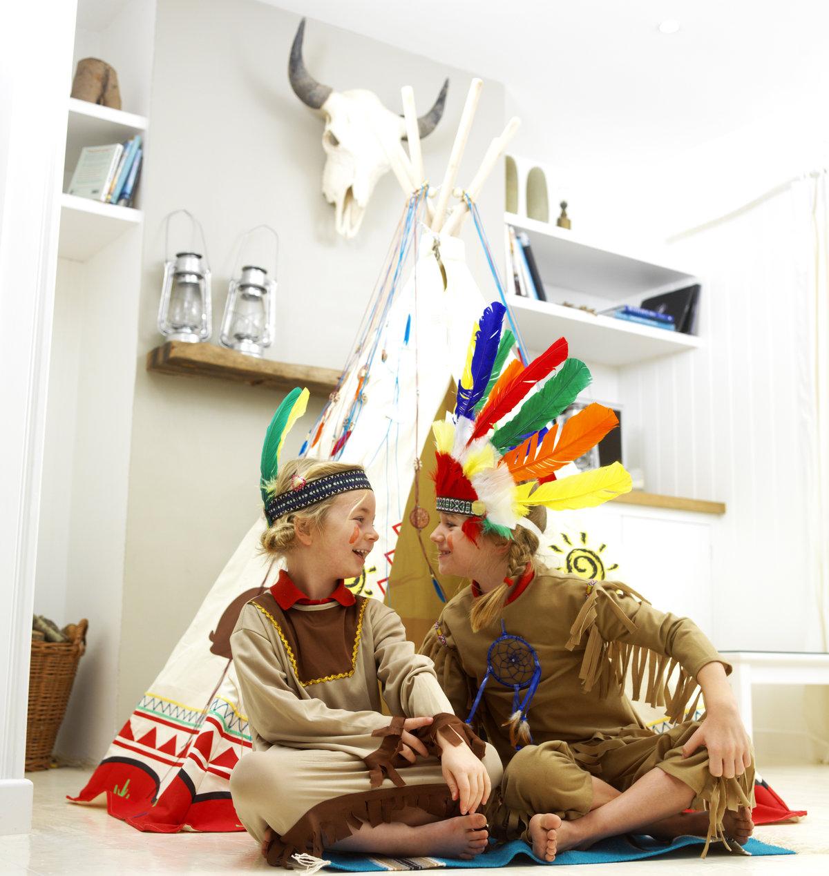 Как и из чего сделать индейский вигвам для детей