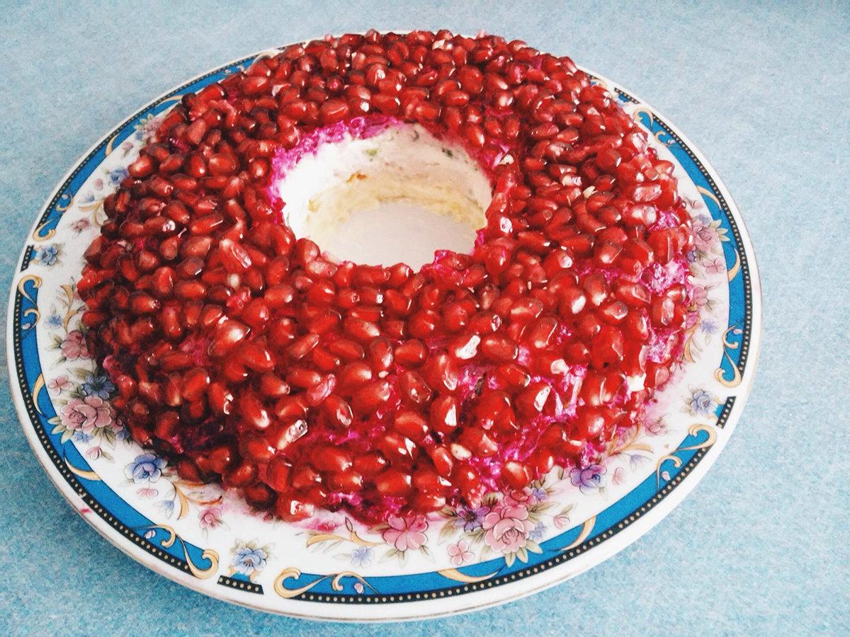 Салат браслет рецепт пошагово
