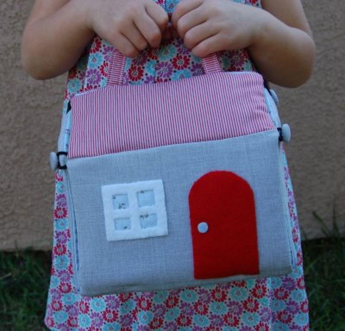 Мягкие домики для детей своими руками
