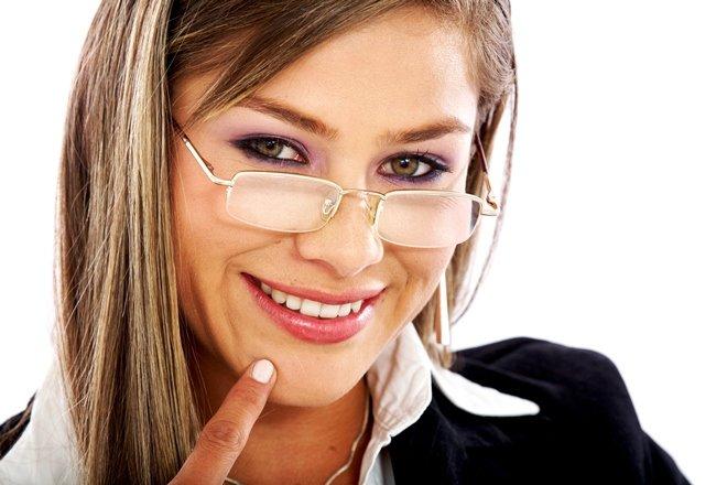 Макияж под очки при близорукости