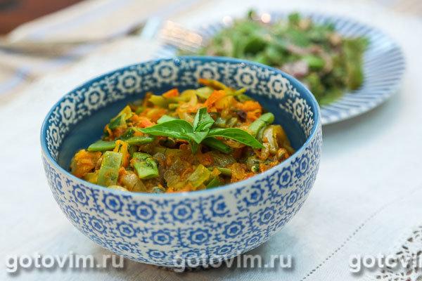 Лобио из фасоли с овощами рецепты