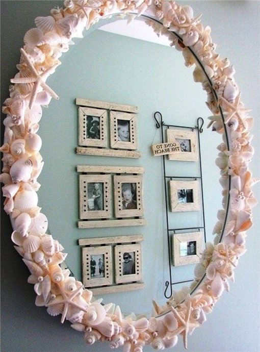 Рамки для зеркала и фото своими руками