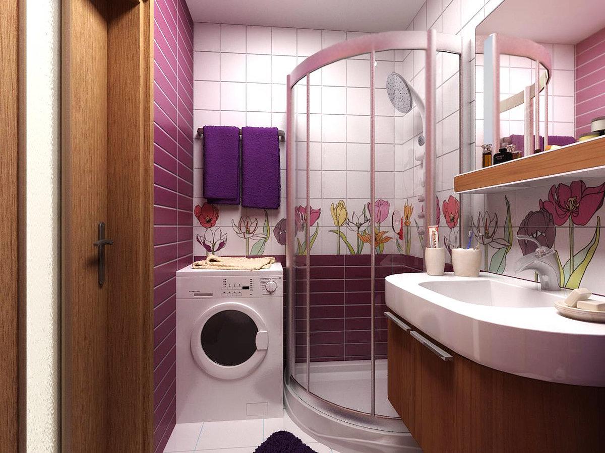 Ванна в панельном доме дизайн