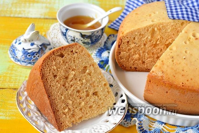 Медовый бисквит в мультиварке с фото пошагово