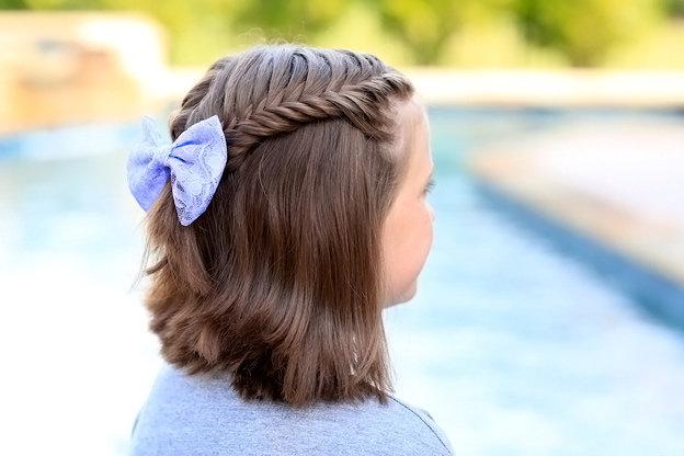 Прически для школы на короткие волосы