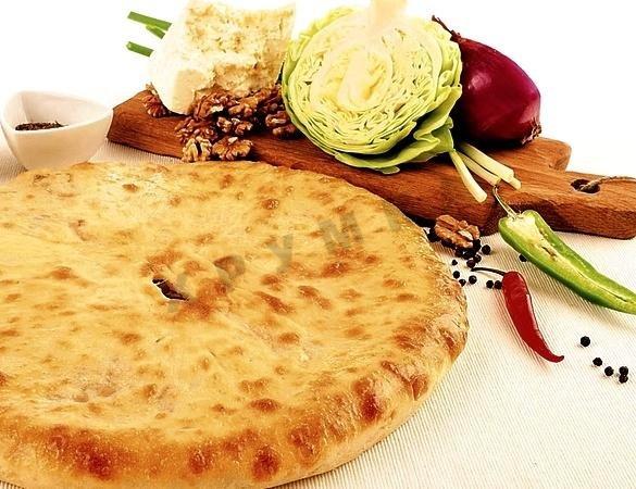 Постный осетинский пирог рецепт с пошагово