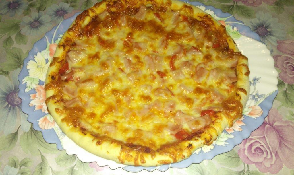 Классический рецепт пиццы в духовке в домашних условиях 9