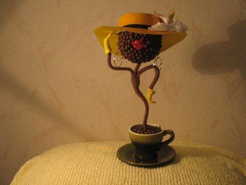 Поделки из кофе самые интересные и необычные